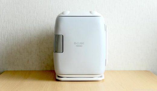 【ポータブル冷蔵庫 HR-DB06 レビュー】車載や保温もできるコンパクトな冷蔵庫
