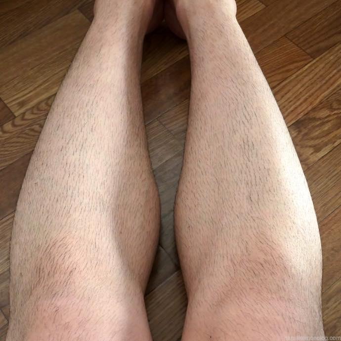 【スネ毛】男のムダ毛処理はバリカンで梳くのが正解!【腕毛】