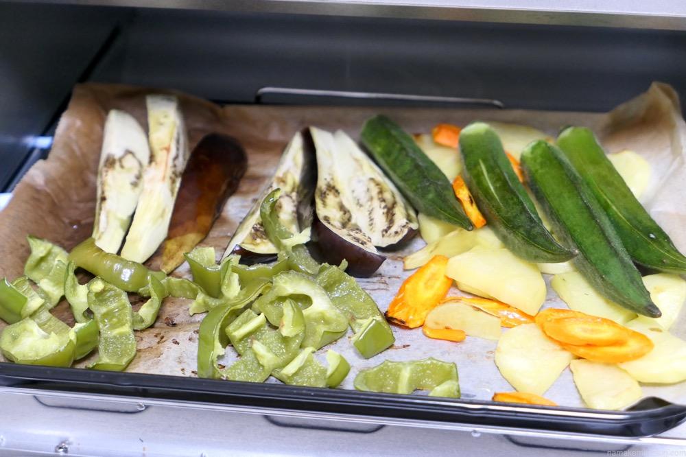 アラジン トースター 焼き野菜
