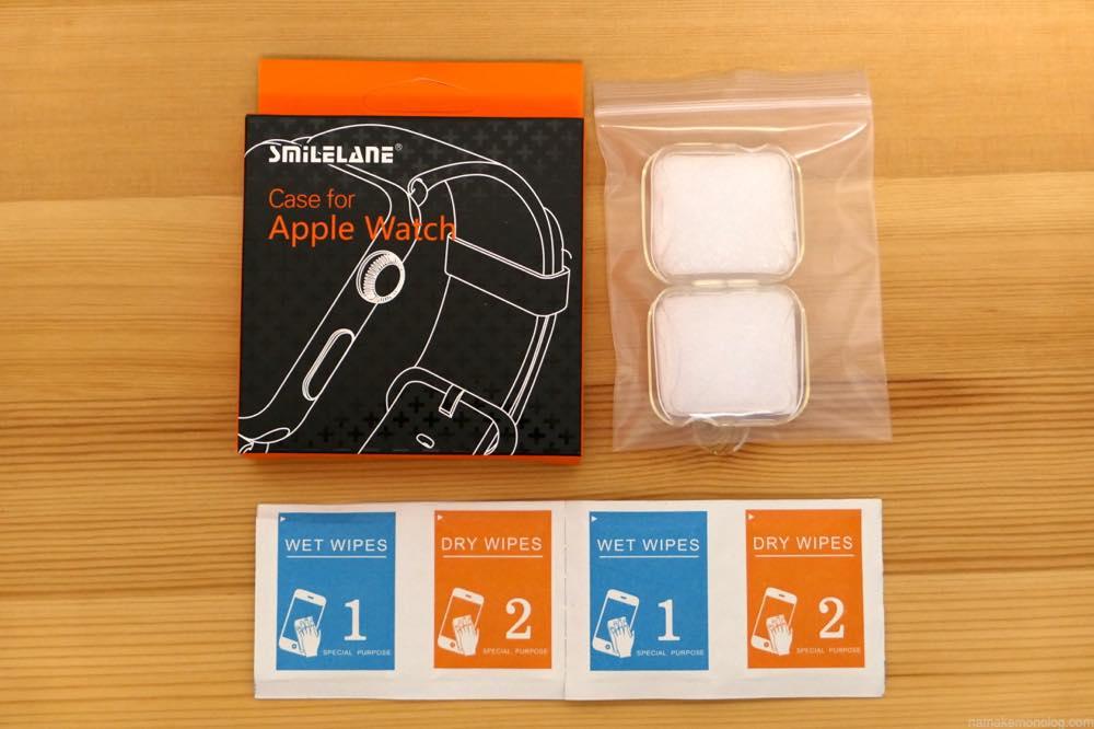 AppleWatchクリアケース カバー
