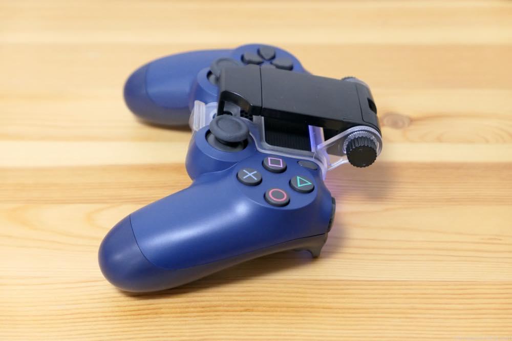 PS4 コントローラー スマホホルダー