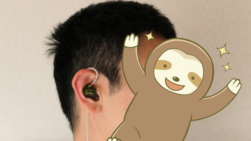 iBasso Audio AM05 装着感