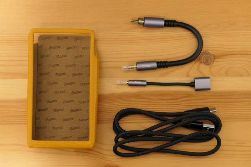 iBasso Audio DX220 付属品