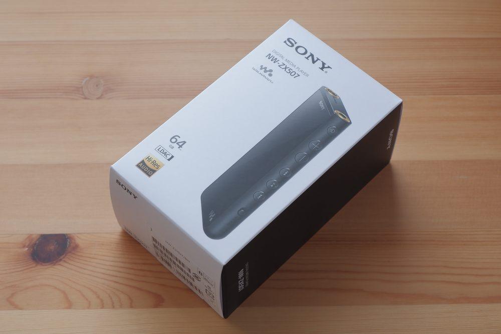 SONY NW-ZX507 パッケージ