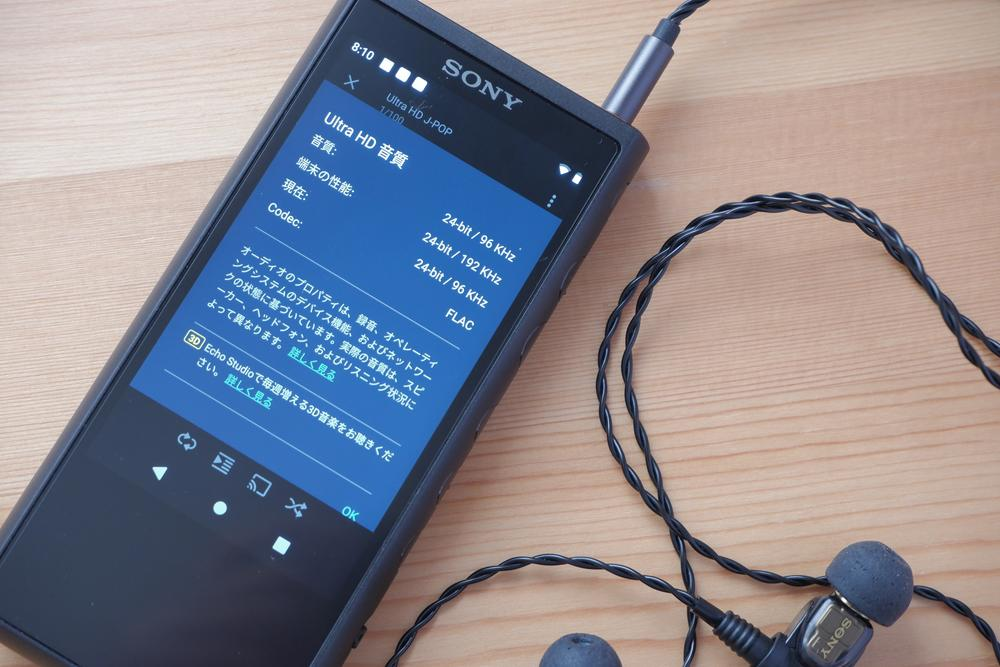 SONY NW-ZX507