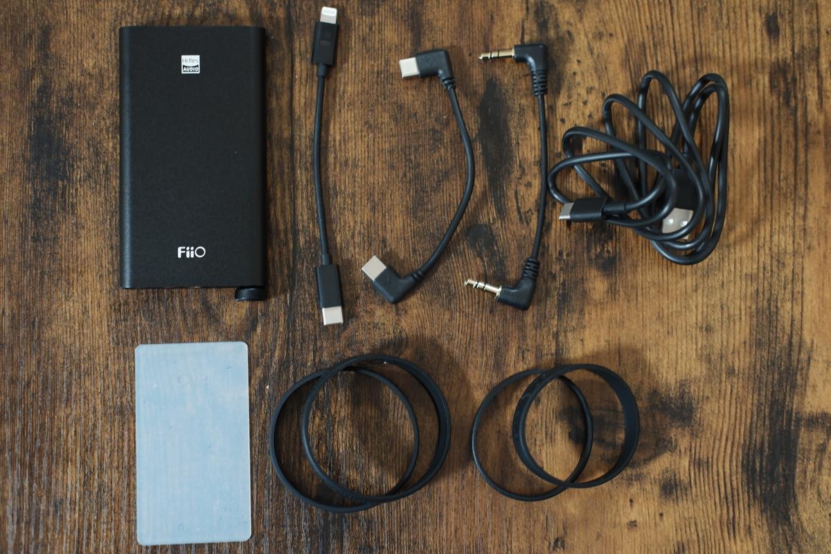 FiiO Q3 付属品