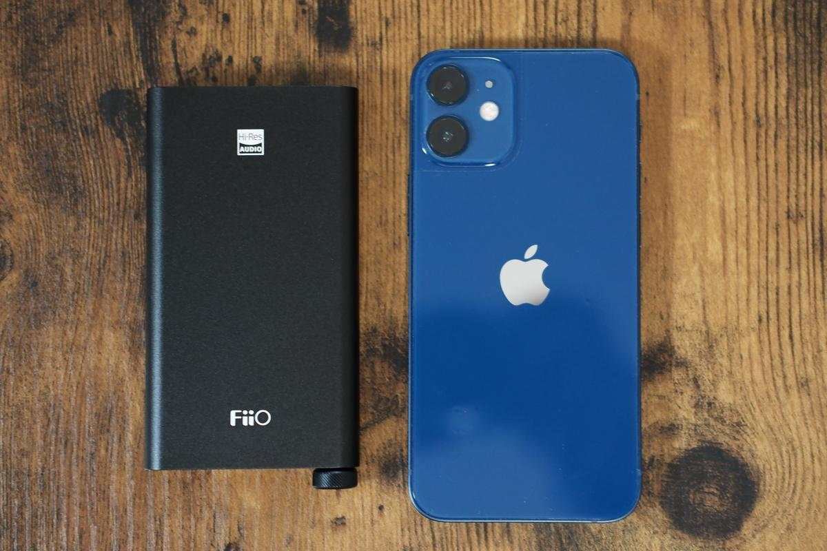 FiiO Q3 iPhone12 mini 比較